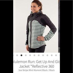 LULULEMON Get Up And Glow Jacket